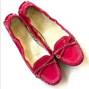 EUC Coach leather flats / loafers